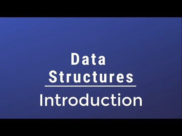 Data Structures Full Course In Arabic