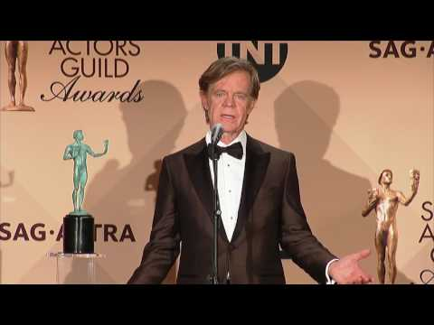 William H. Macy - SAG Awards 2017 - Full Backstage Interview