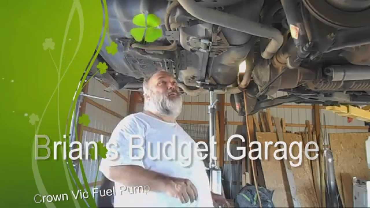 Brians budget garage crown vic fuel pump youtube solutioingenieria Gallery
