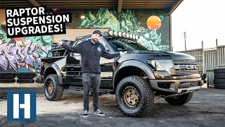 Blown Raptor Shocks = Worst! Suspension Overhaul on Vin's Tow/Camp Rig