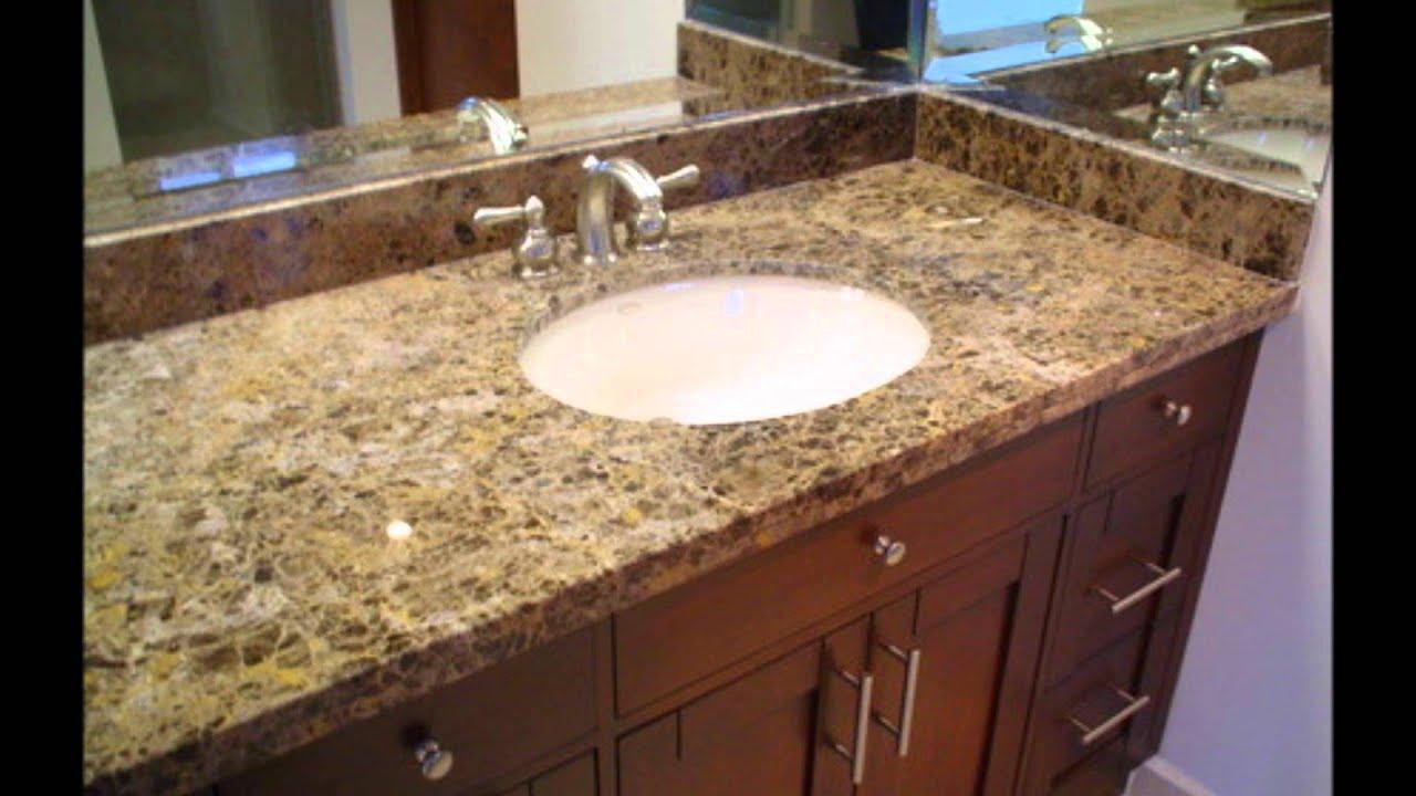 Fine stone ba os de granito cuarzo m rmol con finos - Colores de granito para encimeras de cocina ...
