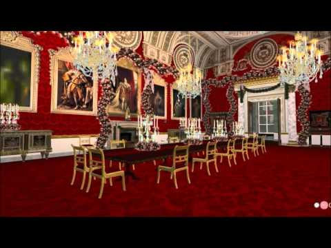 Second Life Travels: Christmas at Buckingham Palace