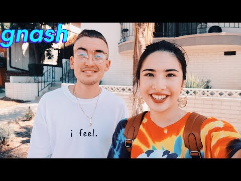 GNASH Interview- anxiety, gf rosa, branding, family, g-eazy, childhood, usc