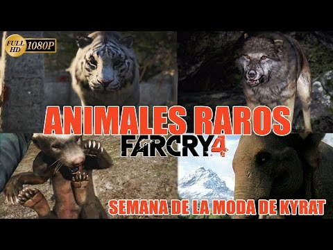 Far Cry 4 Cazando Animales Raros Español   Mision Secundaria Semana de la Moda Kyrat