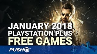Free PS Plus Games Announced: January 2018 | PS4, PS3, Vita | Full PlayStation Plus Lineup