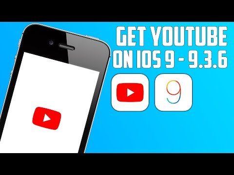 How To Download YouTube App On iOS 9! (2021) iPhone 4s, iPad 2, iPad mini, and iPod touch 5!