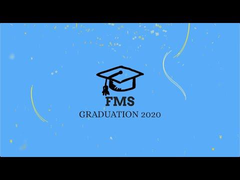Fortuna Middle School Graduation 2020
