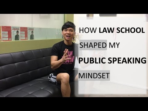 [Relax'd] How Law School Has Shaped My Public Speaking Mindset