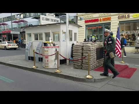 Checkpoint Charlie & Nazi Terror Museum - Berlin , Germany