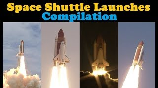 Space Shuttle Launch Compilation | Go To Space