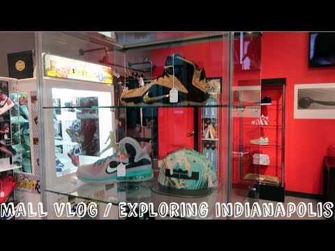 VLOG #1 - Sneaker Shopping   Exploring Indianapolis