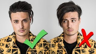 5 Steps to Picking the BEST Hairstyle for YOU   Mens Hairstyling Tips