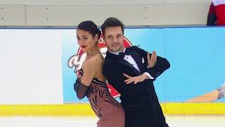 Е Худайбердиева Е Базин Ритм танец Кубок России по фигурному катанию 2020 21 Третий этап