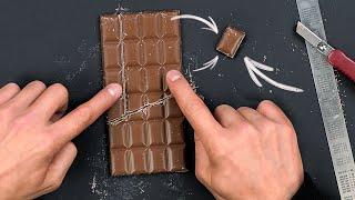 як зробити фокус з шоколадкою