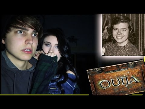 EXPLORING HAUNTED DEAD CELEBRITY's HOME w/ Ouija board (Shea Elyse)