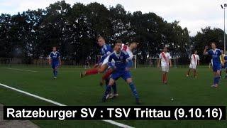 Ligaspiel Ratzeburger SV : TSV Trittau am 9. Oktober 2016