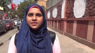 بالفيديو| طالبة ثانوية في أول يوم دراسة: