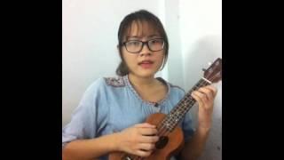 Chưa bao giờ - Tiên Tiên ukulele cover by Trang Trần