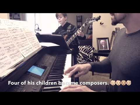 Moses 10 plays JS Bach