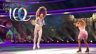 James' Fairytale Week Skate Is a Beauty   Dancing on Ice 2019