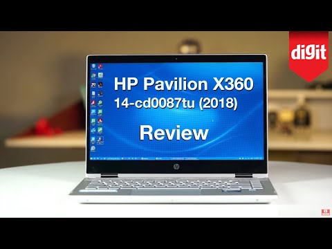 HP Pavilion x360 14-cd0087tu (2018) In-depth Review | Digit.in