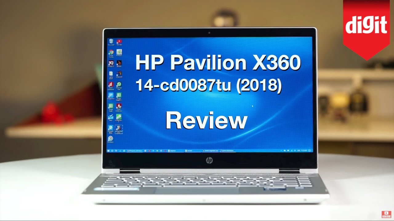 HP Pavilion x360 14-cd0087tu (2018) In-depth Review | Digit in