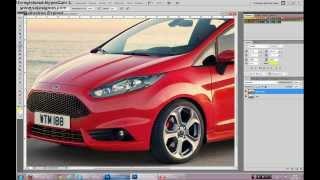 Уроки Photoshop CS5 - #1 (Покраска машины)