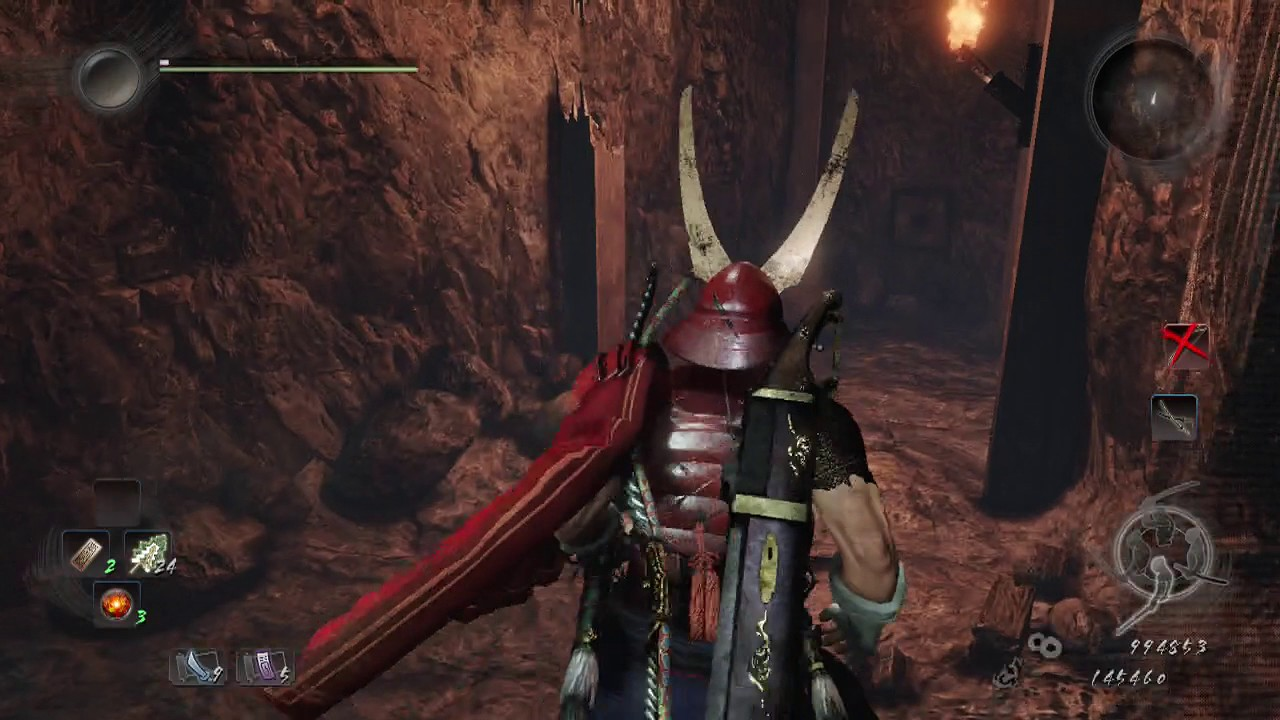 Nioh the Samurai from Sawayama From First Shrine to Second Shrine