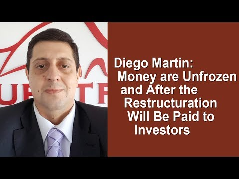 Questra/AGAM - Diego Martin: Money are Unfrozen, and After Restructuration will be Paid to Investors