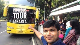 Double Decker BUS - Indo Bus Tour Jakarta Indonesia || VLOG#10