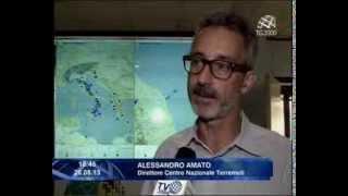 Scosse di terremoto in tutta Italia da nord a sud. Alessio Aversa intervista Alessandro Amato (Ingv)