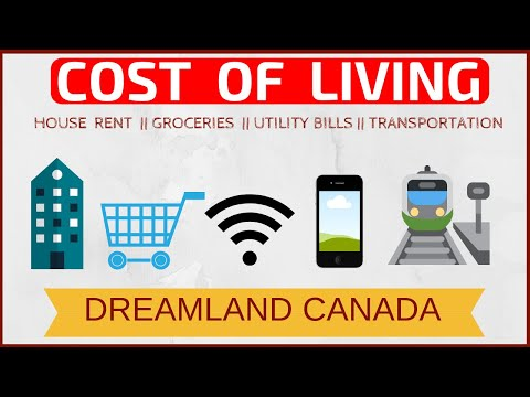 🇨🇦💰Cost Of Living In Canada In 2019