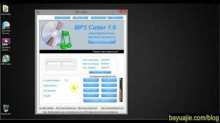 tutorial cara memotong file musik mp3 menggunakan mp3 cutter