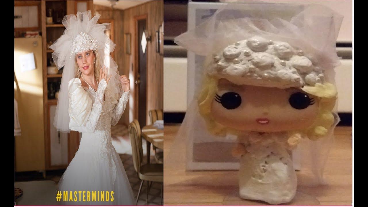 Pop Wedding Dress.Funko Pop Custom Of Jandice In Wedding Dress Making