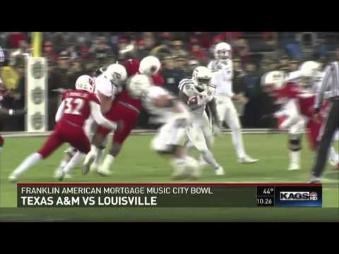 Texas A&M Ends Season With Loss to Louisville in Music City Bowl