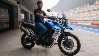 Triumph Tiger 800 XCx - Splendid Engine | Faisal Khan