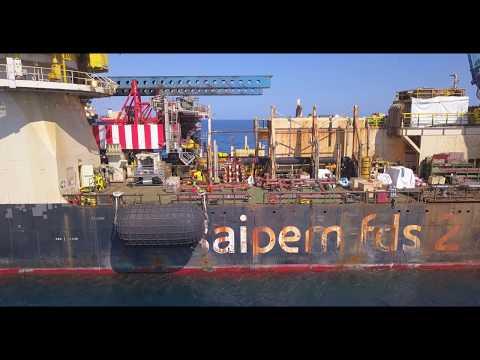 SAIPEM FDS2 Crane Ship (Limassol)