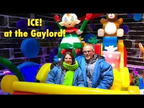 ICE! Christmas at Gaylord National Resort in Washington DC