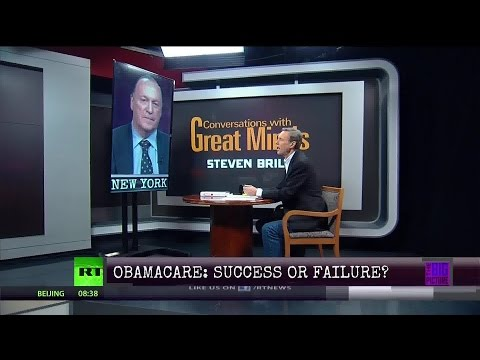 Conversations wGreat Minds P1  Steven Brill  The Fight to Fix Our Broken Healthcare System