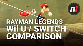 Rayman Legends Switch / Wii U Graphical Comparison | Rayman Legends on Nintendo Switch