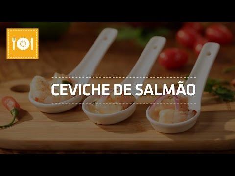 Ceviche de Salmão   Receita   Shoptime