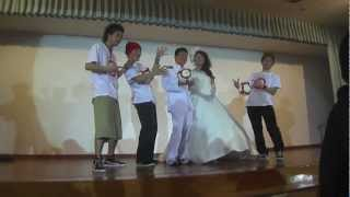 ALEG-Re in 鹿児島 結婚式 feat.剛 2013  Wedding フリースタイルフットボール