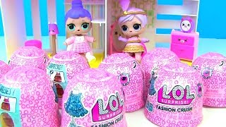 Куклы Лол Мультик! Лол Одевалки! Новые наряды для пупсов в сюрпризах- корзиночках Lol! Dress Up