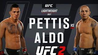 EA Sports UFC 2 - Anthony Pettis vs Jose Aldo   Multiplayer EPIC FIGHT (Ep. 1)