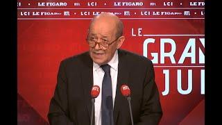 Le Grand Jury de Jean-Yves Le Drian du 9 décembre 2018