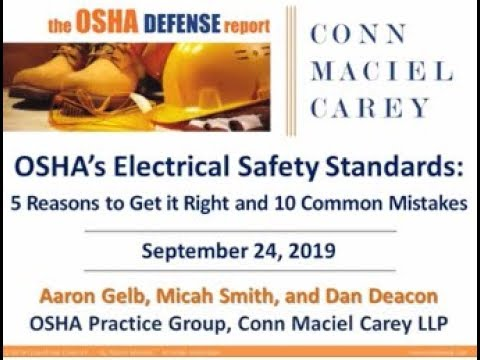 OSHA's Electrical Safety