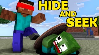 Monster School: Hide and Seek - Funny Minecraft Animation