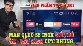 Siêu phẩm Xiaomi TV5 Pro 55 inch Màn QLED 4K 55 inch, cấu hình cực mạnh GIÁ SIÊU RẺ