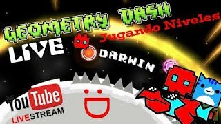 🔴🎮Jugando Niveles De Subs En Vivo (Geometry Dash 2.11) + [Level Request] + Road 1300 Subs