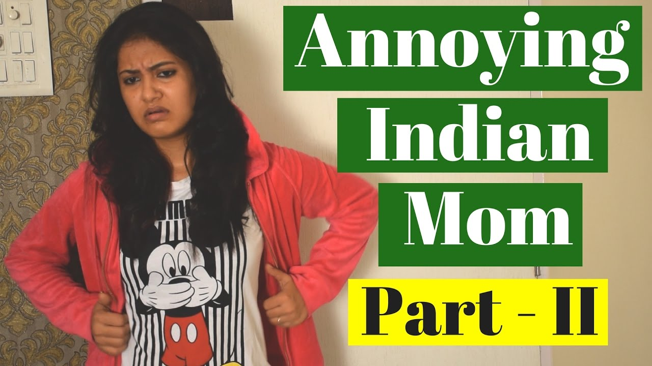 Annoying Indian Mother-II | Adult Comedy | CaptainNick
